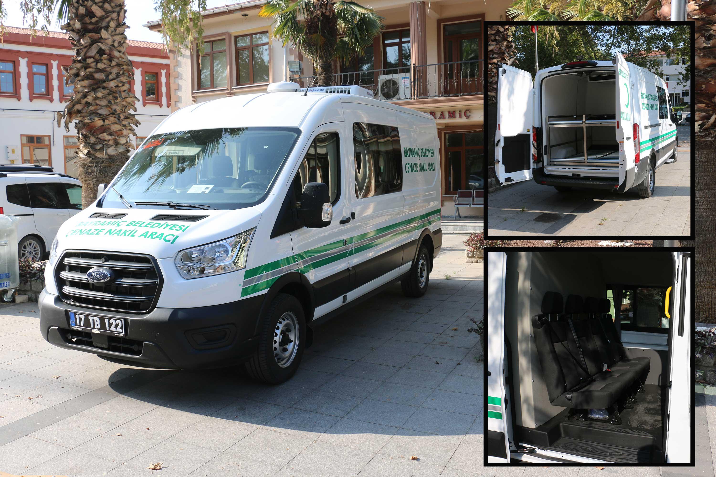 Bayramiç Belediyesi, yeni cenaze aracı aldı