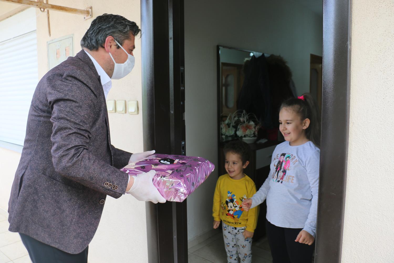 Bayramiç Belediyesi'nden çocuklara özel çalışma.