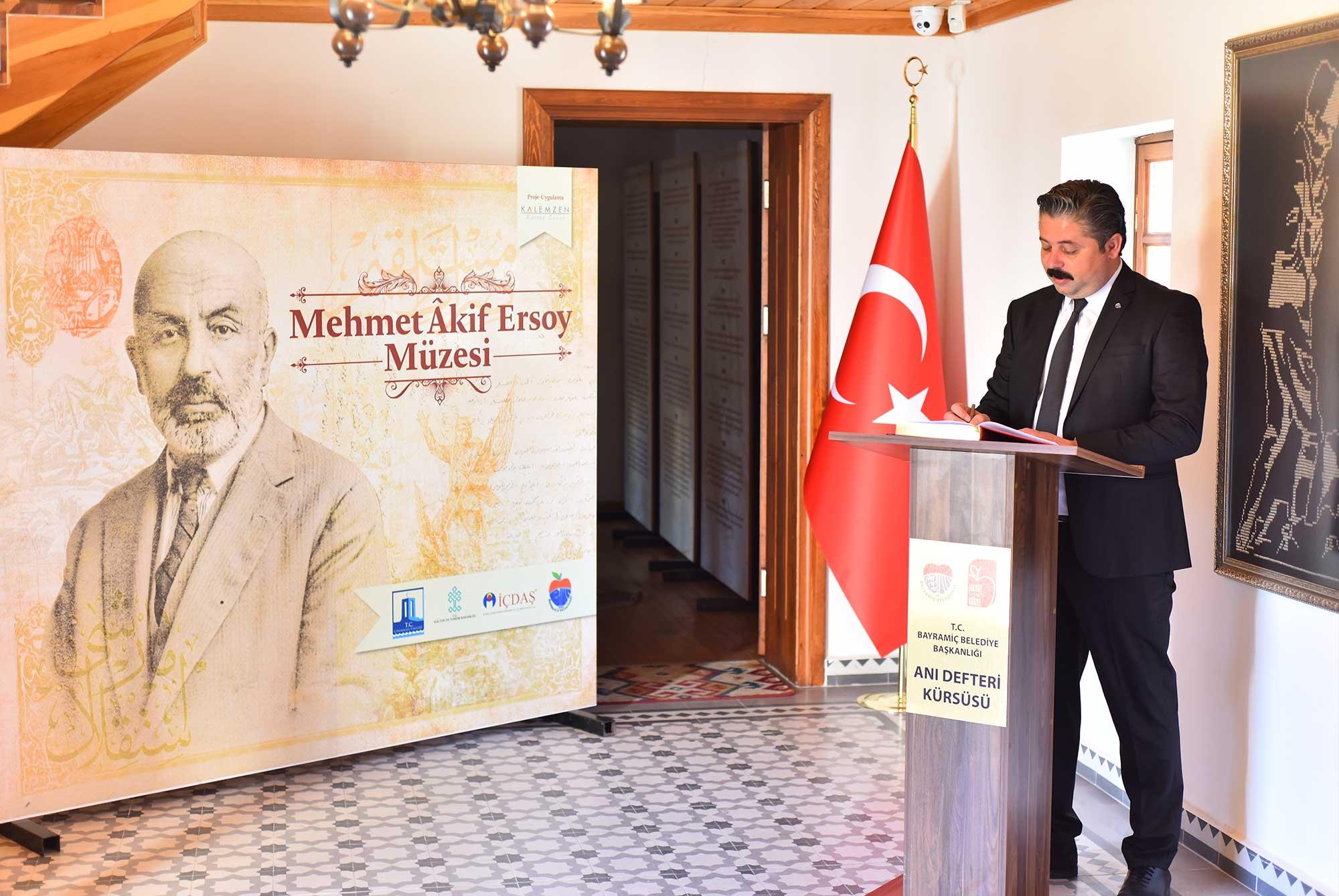 Başkan Uygun'dan, İstiklal Marşı mesajı