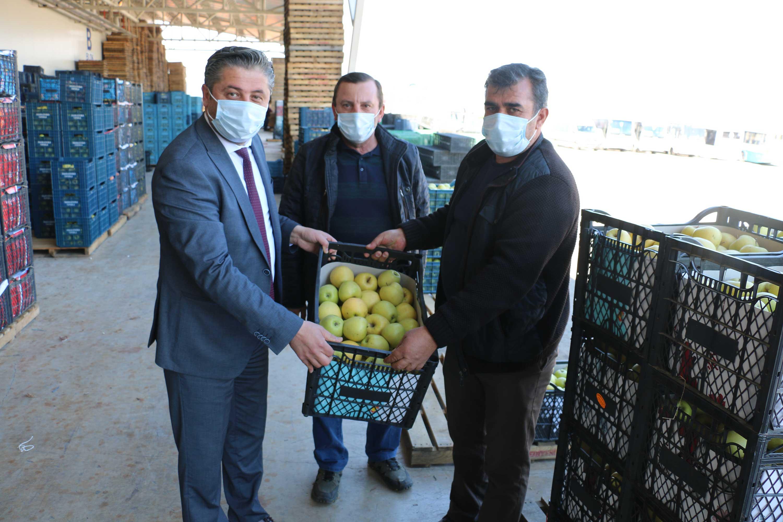 """""""Bayramiç elmasını tüm Türkiye tadacak"""""""