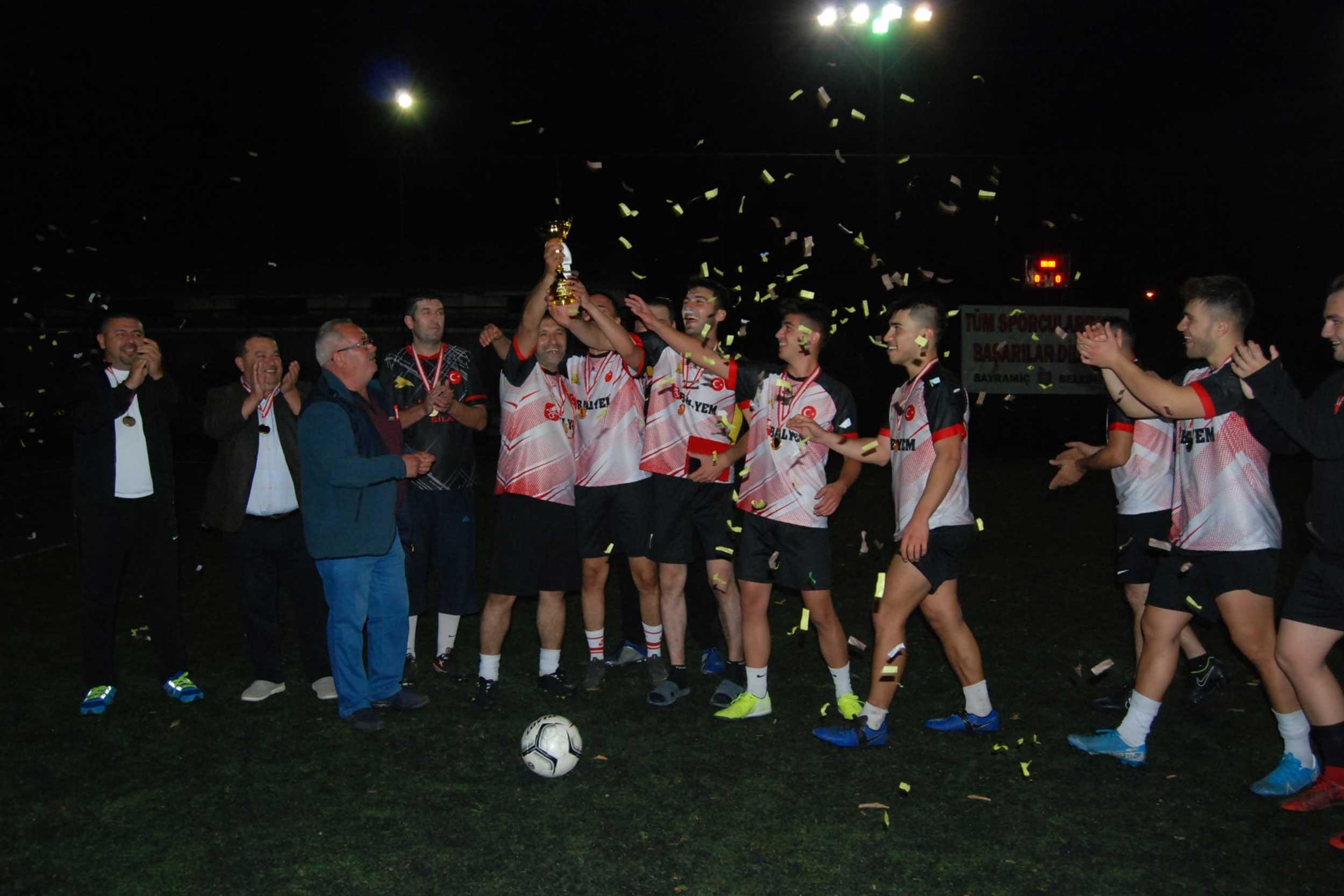 Futsal turnuvasının kazananı belli oldu