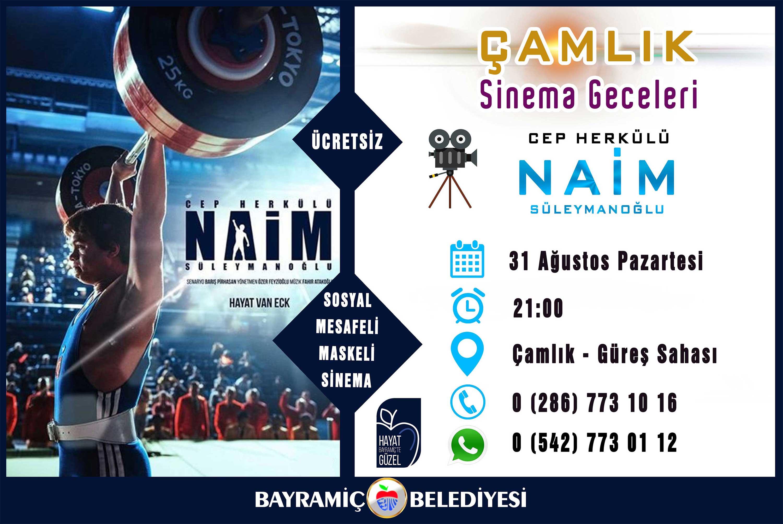 Naim, Bayramiç'e geliyor