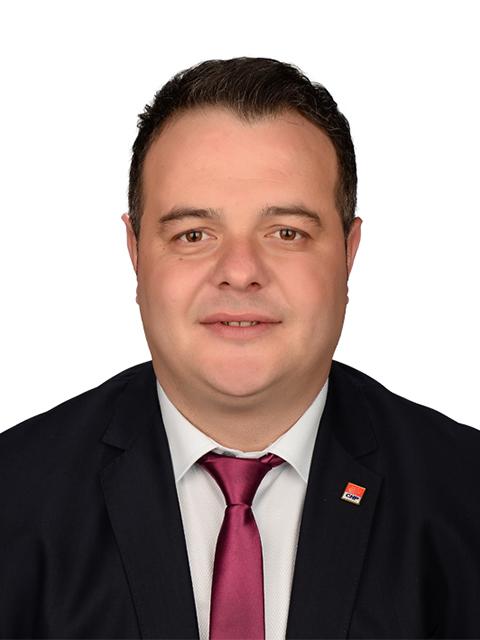 <center>Ahmet KARADENİZ<br>Belediye Encümen Üyesi</center>